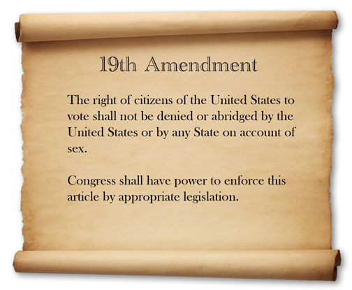 19th amendment 1 Shmoop: us constitution 19th amendment summary analysis of 19th amendment by phd and masters students from stanford, harvard, berkeley.
