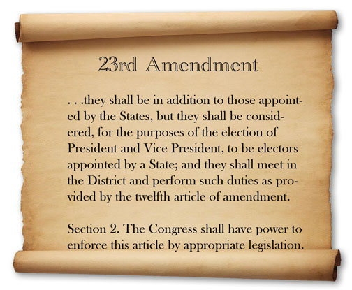 23rd Amendment 2