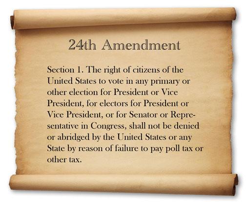 24th amendment 1