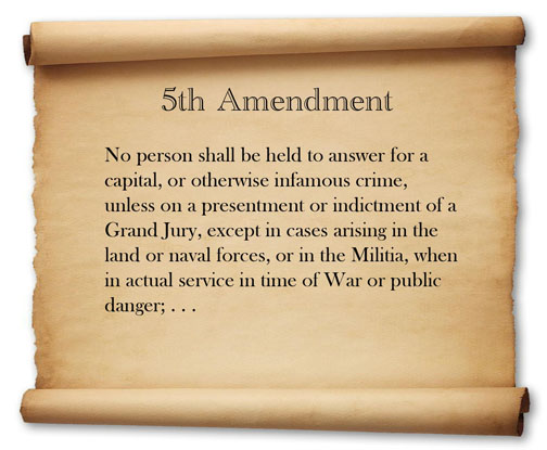 fifth amendment Apply landmark supreme court cases to contemporary scenarios related to your rights when you are in police custody.