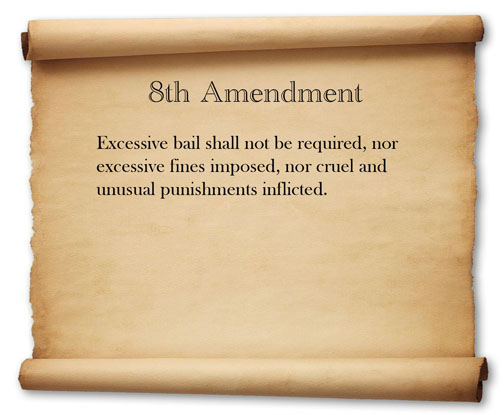 the eighth amendment to the united Arizona (supreme court case), constitutional law -- united states  court's  miranda jurisprudence and its eighth amendment excessive.