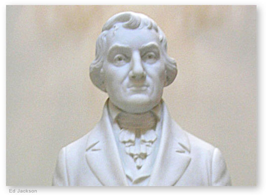 Abraham Baldwin Statue
