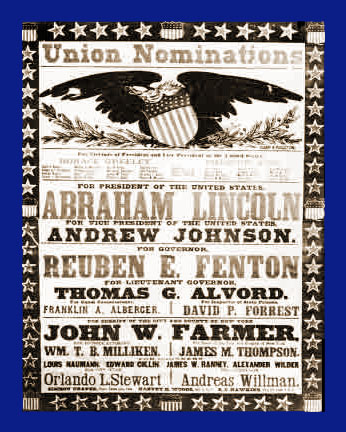 Abraham Lincoln Reelection Poster