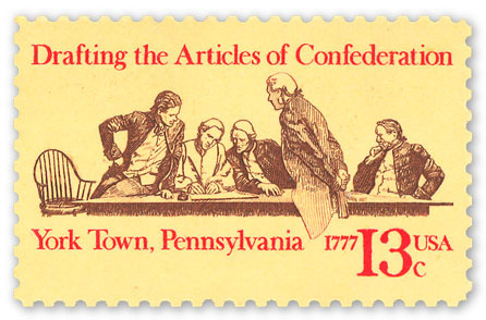 Articles of Confederation Stamp