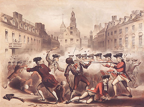 Image result for crispus attucks boston massacre