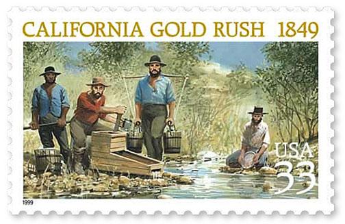 california gold rush of 1849 essay