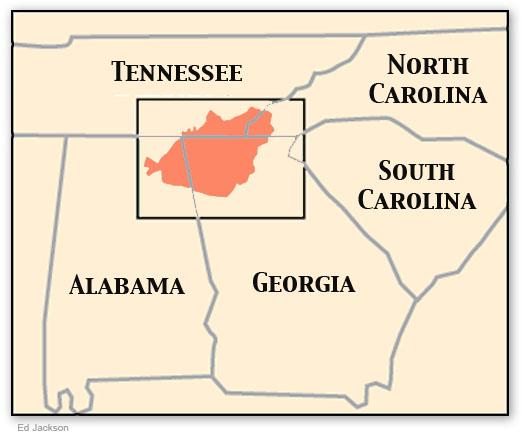 Cherokee Nation Map Car Interior Design