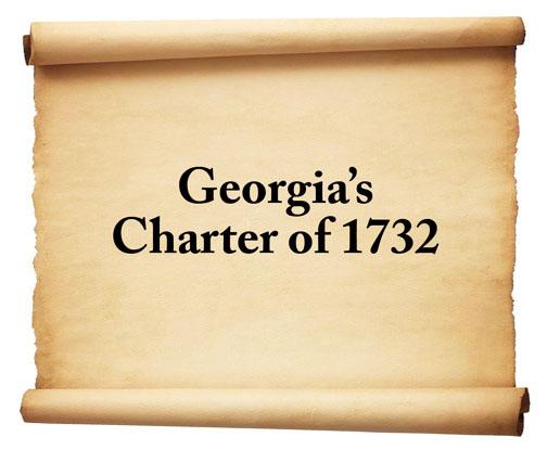 Georgia's Charter of 1732 Graphic