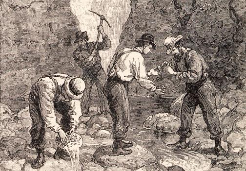 georgia gold rush 1830s