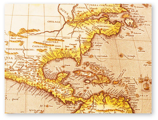 Map Of Southeast Georgia.Map Of Southeast 1600s