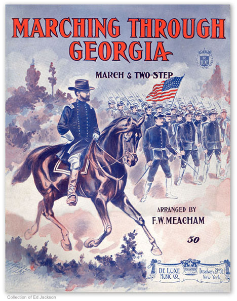 Image result for marching through georgia