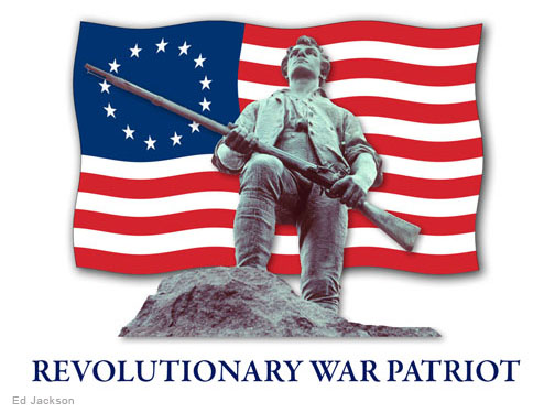 american revolution patriots flag