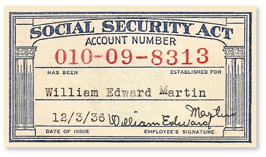 Social Security Security Card Social Card Security Social