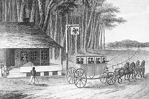 stagecoach early 1800s