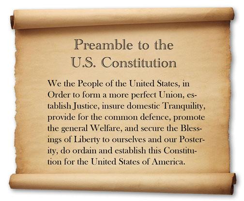 u.s. constitution essay