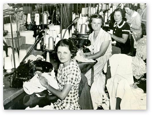 Woman Mill Worker