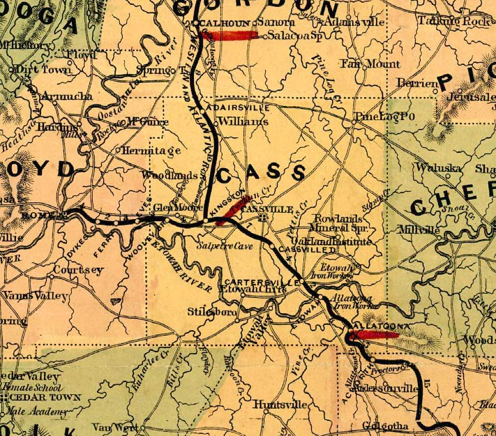 topographical map of georgia with Bartow1864map on Al maps besides Wegenkaart Landkaart Argentinie Noord Argentina North Uruguay Itmb as well Battlefield Gettysburg Map together with Henry1864map together with Tokio.