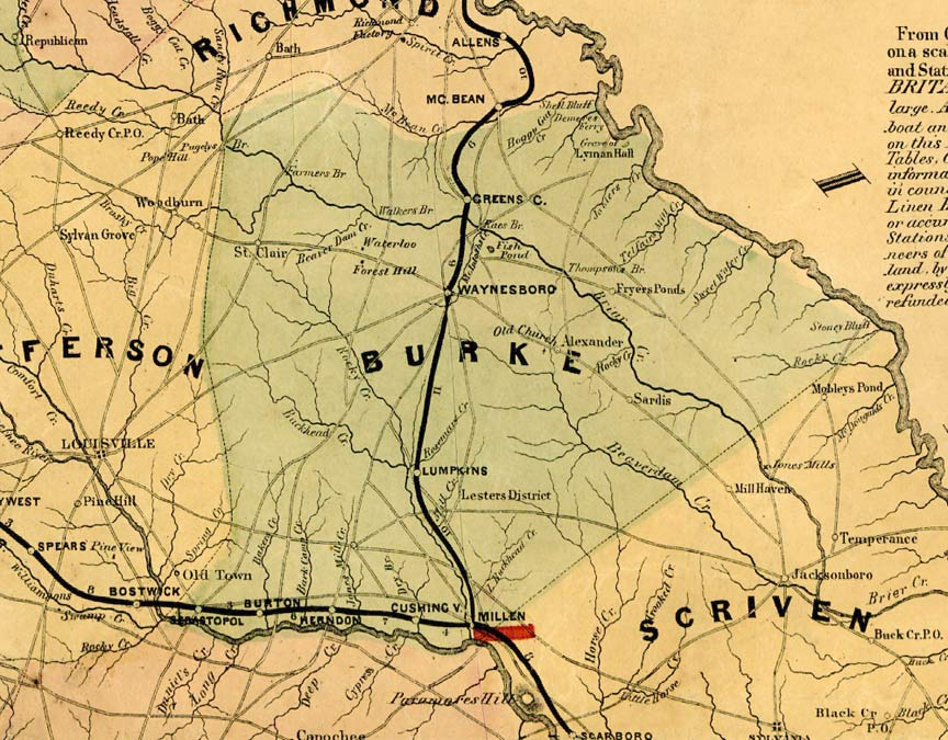 map of nc cities with Burke1864map on Martinsville additionally Real Estate For Sale In Brevard North Carolina furthermore Places In Civil War History Tennessee Secession And Fortress Monroe moreover Alabaster further Burke1864map.