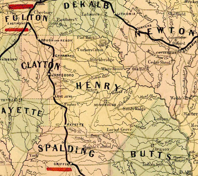 topographical map of georgia with Henry1864map on Al maps besides Wegenkaart Landkaart Argentinie Noord Argentina North Uruguay Itmb as well Battlefield Gettysburg Map together with Henry1864map together with Tokio.