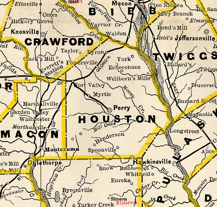 map of houston counties with Houston1885bmap on Multiflora Rose furthermore Hcs04 besides Cambria Iron Works Johnstown likewise Harper College Map also Rainfall 1981 E2 80 932010.