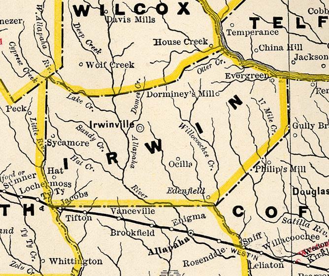 Ockolocoochee, Little River 1889-01-29 | WWALS Watershed ...