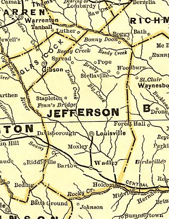 georgia map with cities and counties with Jefferson1883map on Jackson  GA furthermore Jefferson1883map as well Where Is South Bend moreover Hawaii County Map further Rabun1999map.