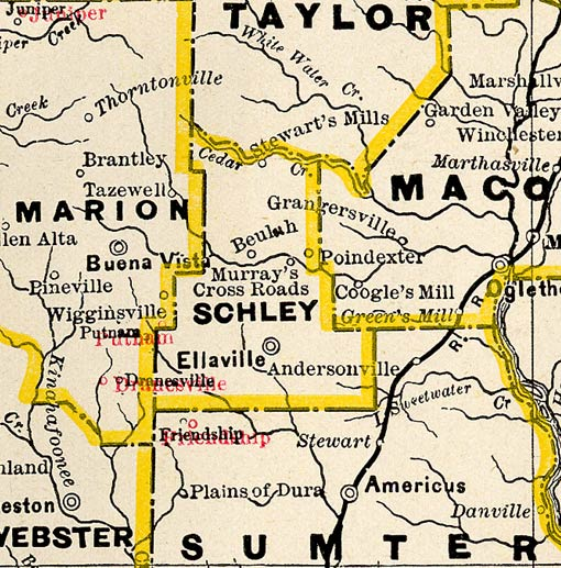 georgia county maps with Schley1885bmap on MapTownsCo1939 52 together with Heard1899map also Mitchell1999map likewise State cwfa georgia also Calhoun2001map.